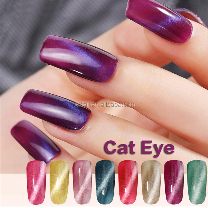Sexy Style Recommend Nail Cat Eye Gel Polish With Msds