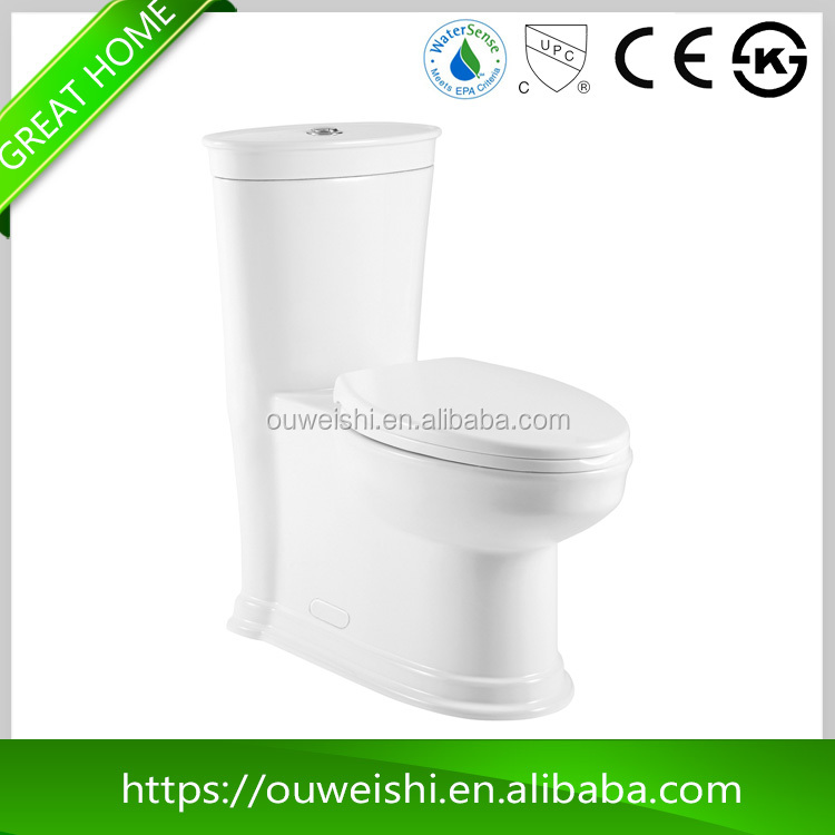 High-end product with good quality white blue wc toilet from alibaba premium market