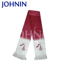 2017 Heat Sublimation Printing Manufacturing Satin Qatar Scarf