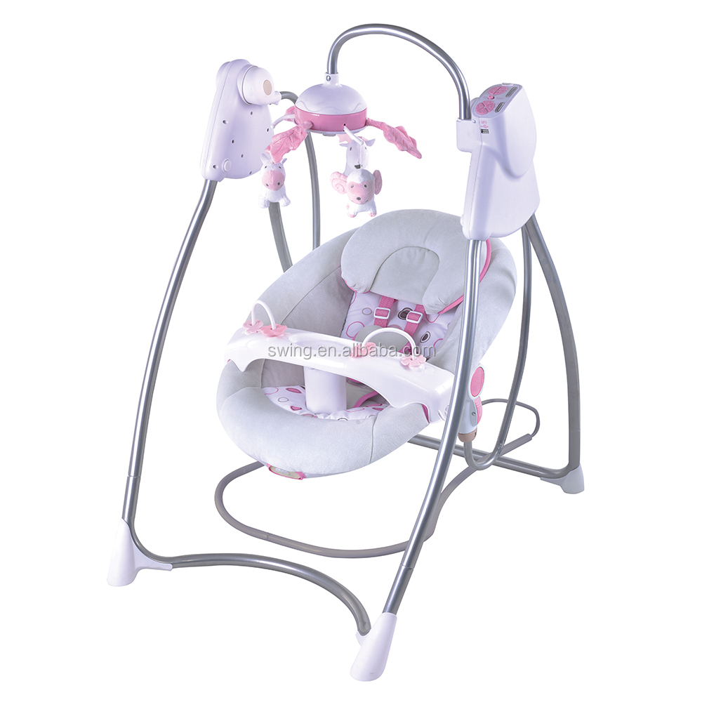 Safety Newborn to Toddler baby rocker chair with baby chair vibration (Model TY802K)