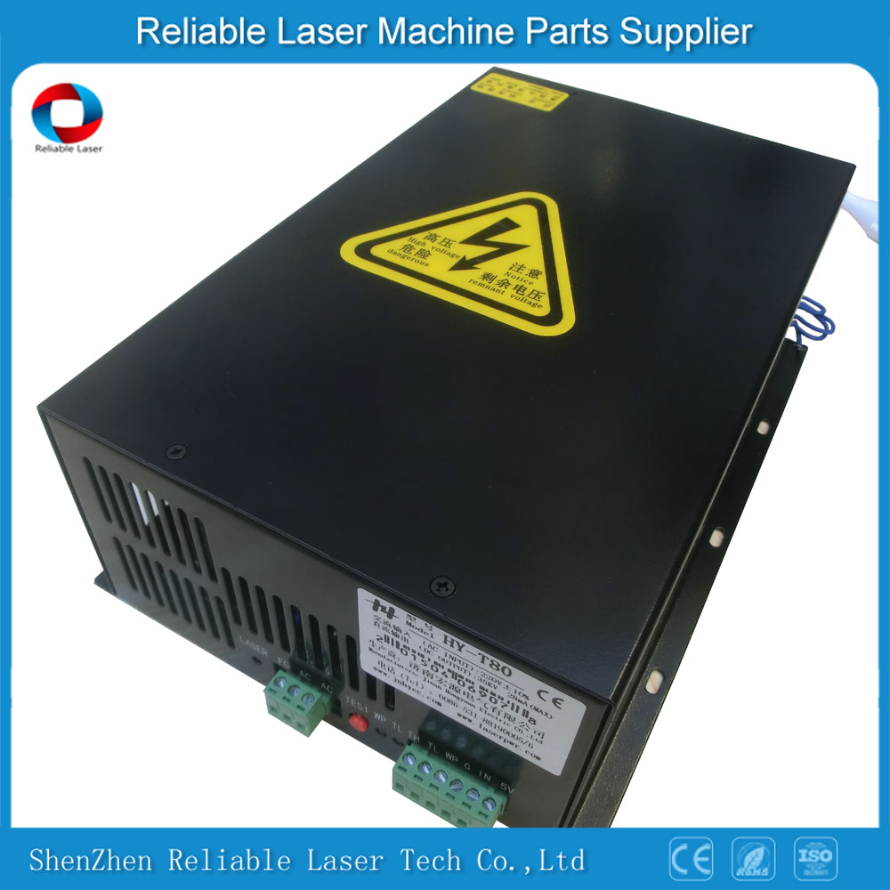 Universal Laser Power Hy-t80 For 80w Co2 Laser Tube - Buy Universal Co2  Laser Power Supply,Laser Power Supply 80w,Co2 Laser 80w Tube Product on