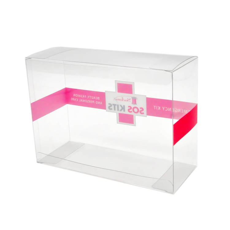 Wholesale Hiqh Quality Custom Large Hard Plastic Box Clear PVC PET Box