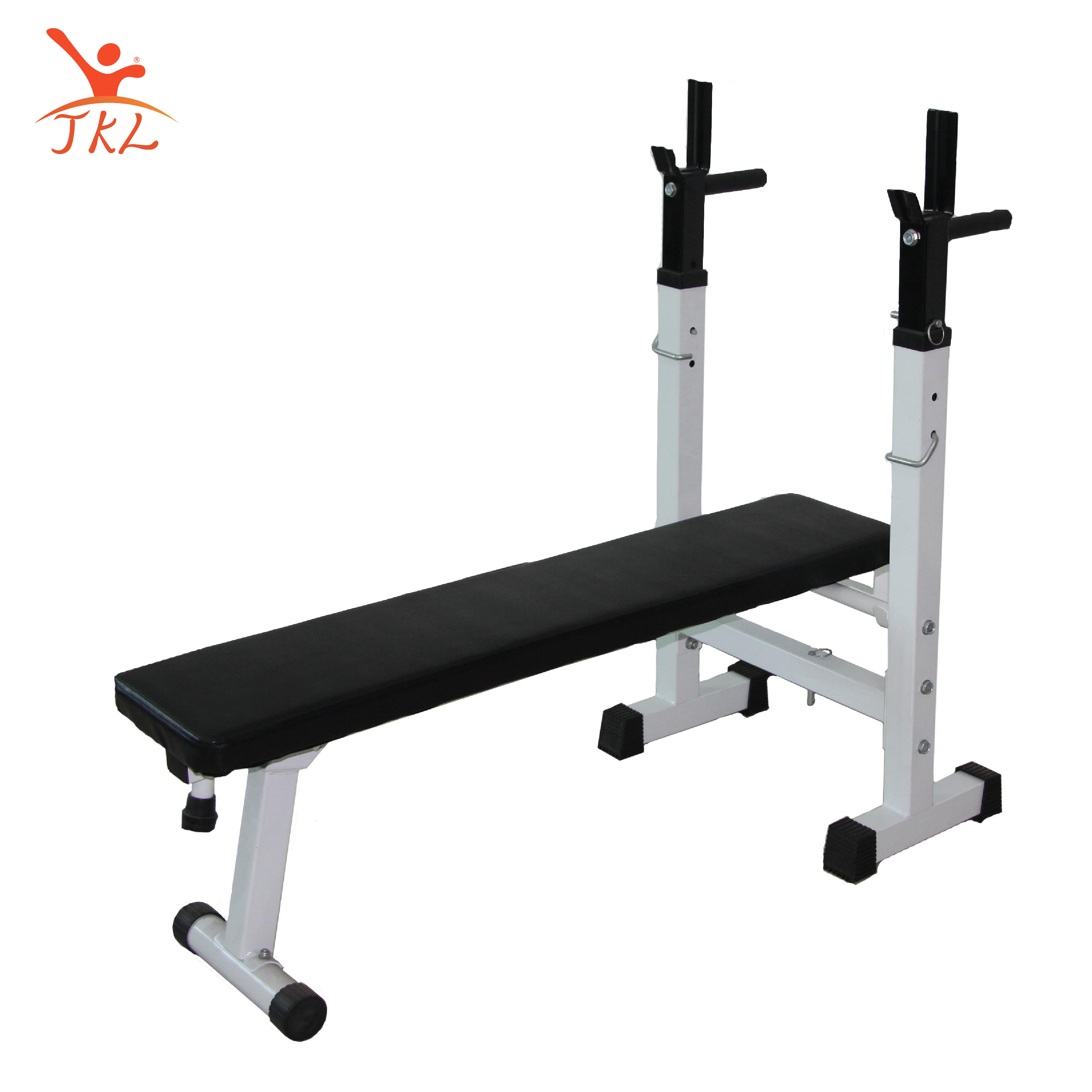Household multifunctional folding supine board Weightlifting bed Bench press Parallel bar fitness equipment