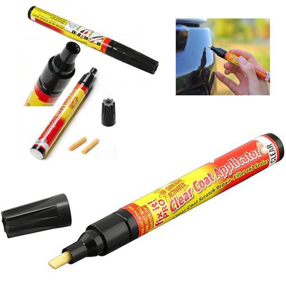 DiiZii Car Scratch Repair Remover Filler & Sealer Painting Pen Clear Car Coat Applicator for All Cars, Not for Deep Scratch