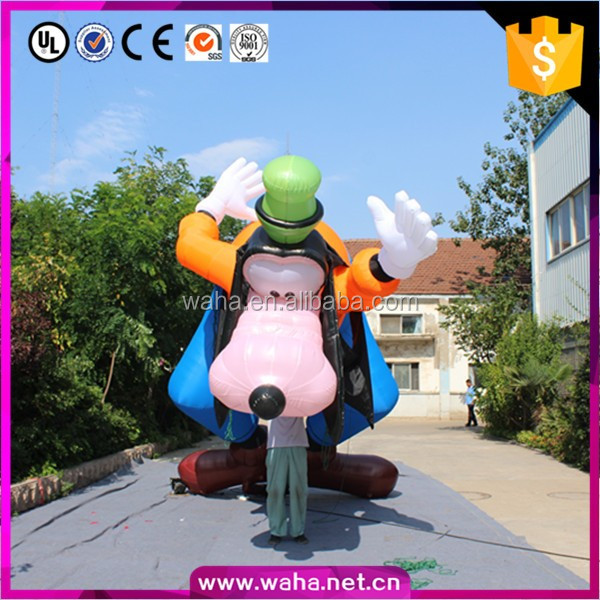Factory price best product giant inflatable animal dog cartoon characters