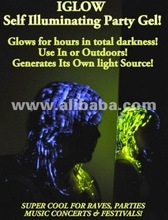 IGLOW PARTY HAIRGEL GLOW IN THE DARK from USA ! DISTRIBUTORS WANTED 2012 !!