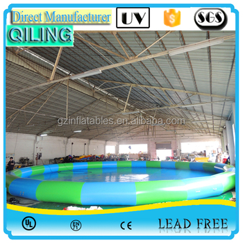 recreation family inflatable pool square above ground jumbo swimming pools round pvc water pool