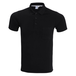 Hot sale cheap advertising polo t shirt with pocket for mens