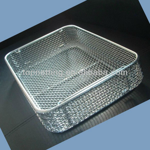 Stainless Steel Shallow Wire Mesh Basket, Stainless Steel Shallow ...