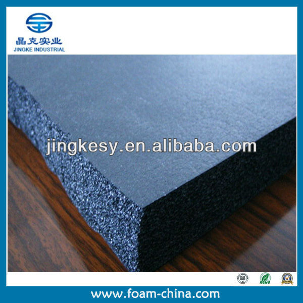 customized size,density,color high density insulation nbr foam rubber