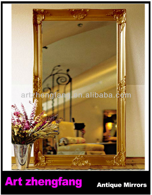 Luxury Wood Wall Mirrors Decorative Ornament - Wall Art Design ...