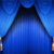 50 colors in stock classic church stage curtains with valance