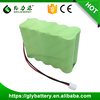 1000mAh Rechargeable NI-MH AA Battery Pack 12V