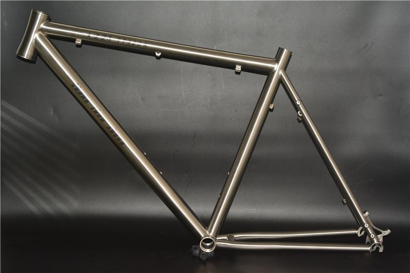 China Titanium Single Speed Bicycle Frame China Titanium Single