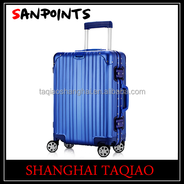 Aluminum metal suitcase travel bag suitcase/ case/luggage spinner wheels