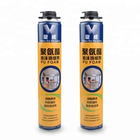 polyurethane PU foam mounting of window and door frames foam sealant
