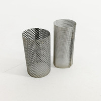Porous stainless steel wire mesh sintered filter screen tube
