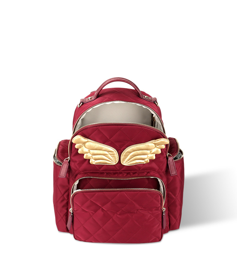 Quilted Waterproof Mother Bag Leather Land Felt Diaper Bag - Buy ... 0ae6a0f1c4da0