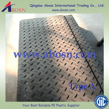 Plastic Road Mat Temporary Protective