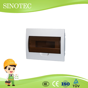 10 way consumer unit pole mounted distribution box pairs panel