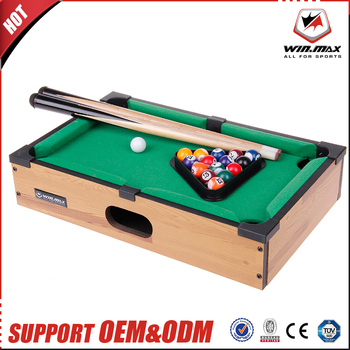 2017 WINMAX Wholesale Toys Kids Playing Billiard Table Best Quality Mini  Pool Table