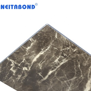 Low Price marble granite finish aluminum composite acp panel