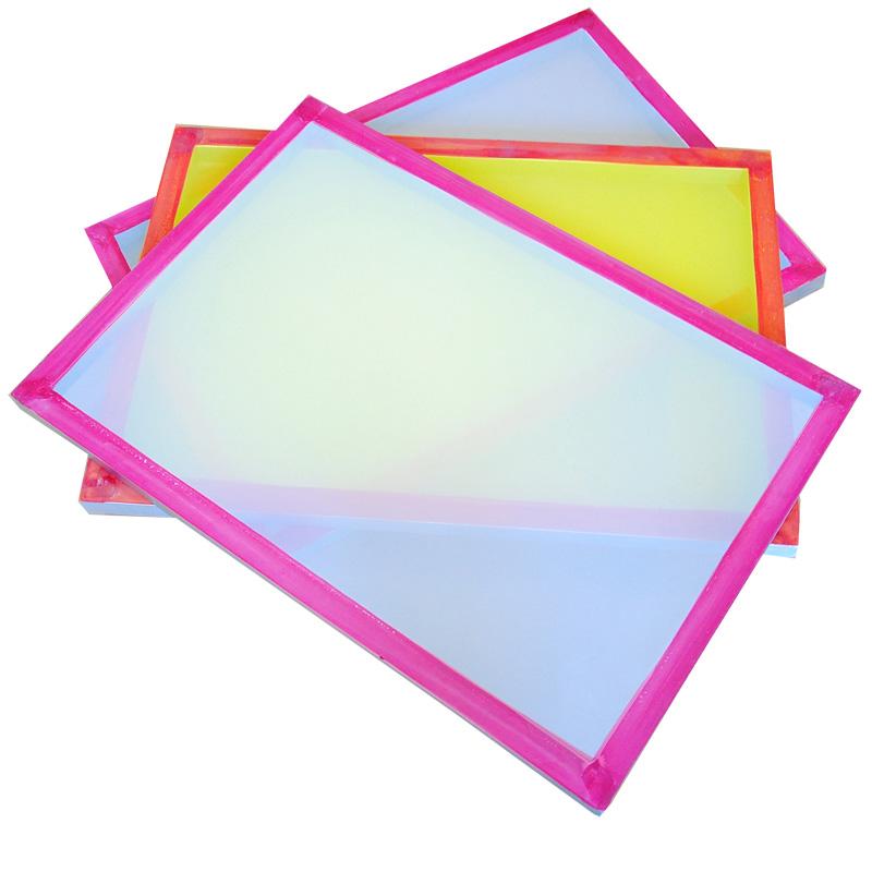 18x20 \'\'serigrafía marcos de aluminio con 43 t malla blanca venta de ...