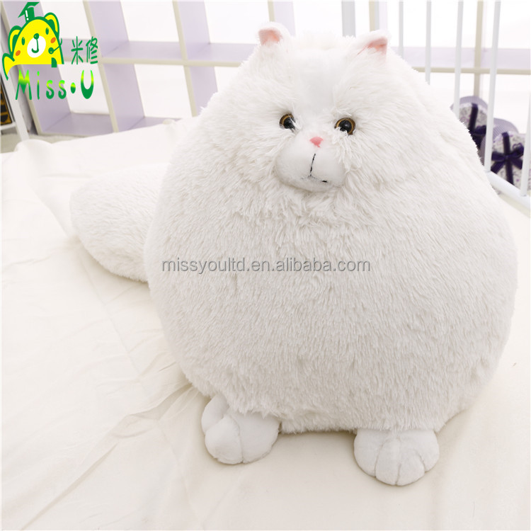 High Quality Soft Customized Plush Animal Toys Simulate Long-tail Persian Cat Toys