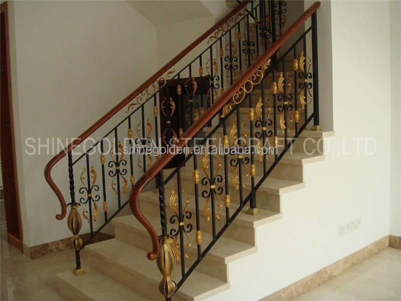Gyd-15ba103 Elderly Indoor Iron Handrail Roof Deck Railing - Buy ...