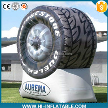 Inflatable Tyre Model, Advertising Tyre Product, Car Shape Inflatable