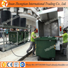Full complete of city cleaning equipment hydraulic lift system with trash box bins