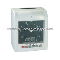 Clock and LCD Display Punch Card Electronic Time Recorder Attendence Management EU-3300