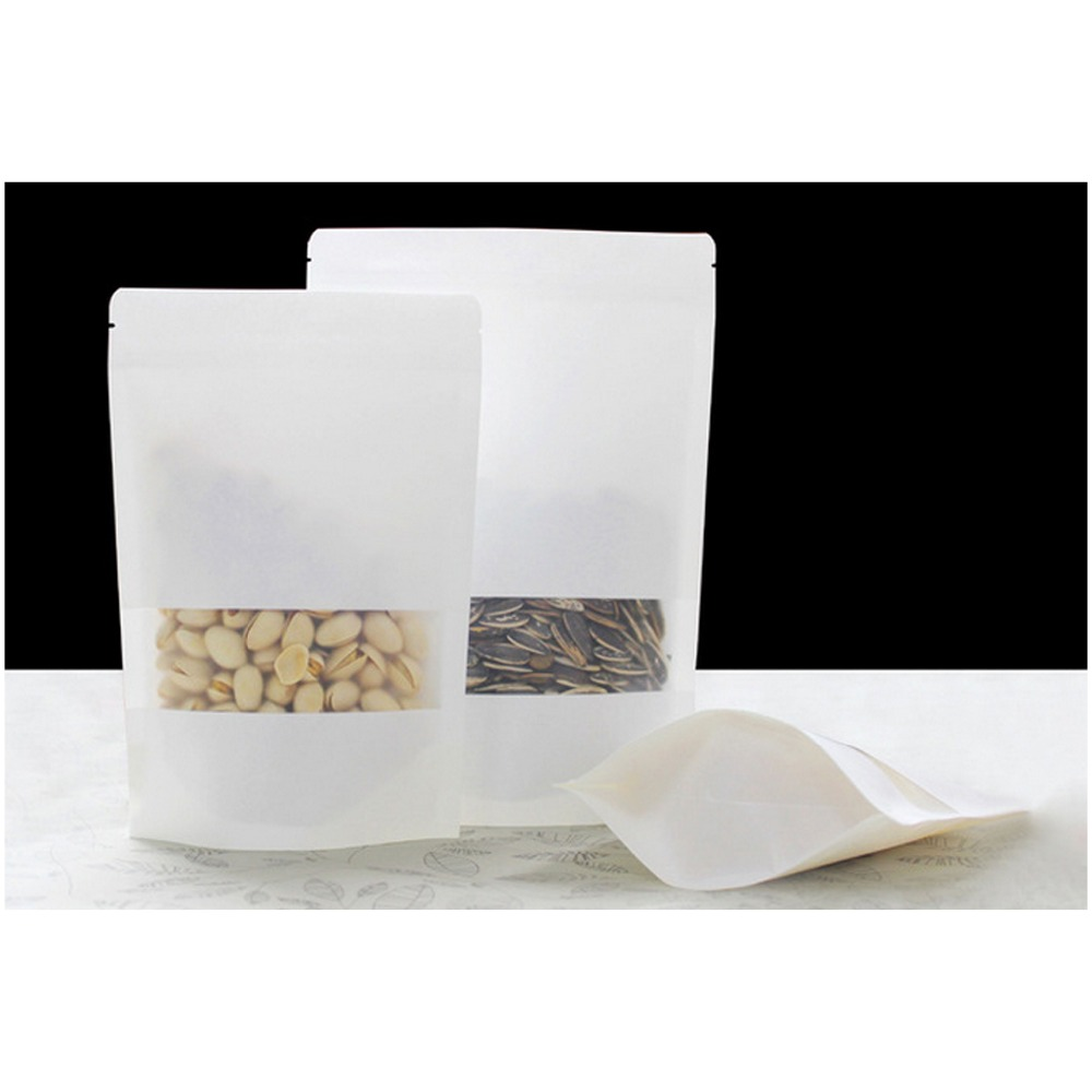 wenzhou packing zip paper bag for clothes kraft paper laminated al bag