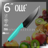 "6"" Ceramic Paring Knife with Stainless Steel Endcap V3S blade"