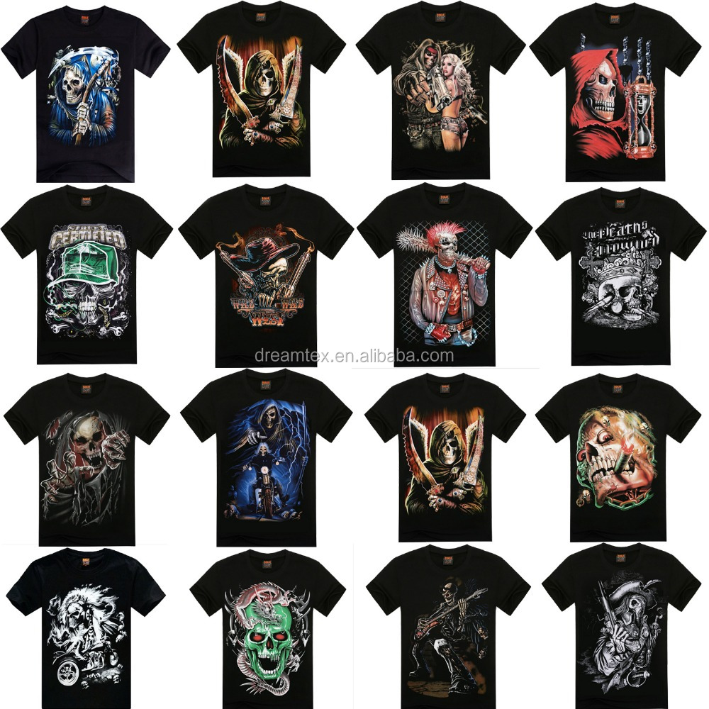 Dreamcolor custom screen print full print sublimation print t shirt