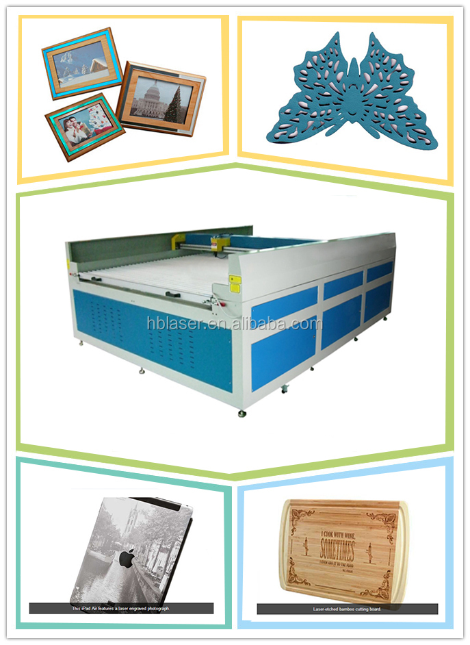 Hot sale embroidery/textile cutting machine 1390 1300x900mm
