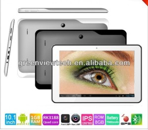 "Dual Core Tablet PC 10.1 "" 1280*800 RK3168"