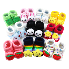 0 – 6 Months Newborn Baby Three-dimensional Socks Soft Cotton Three-dimensional Cartoon Cute Style Non-slip Socks