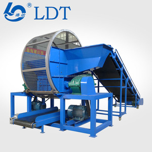 Using for Wide Rubber Tires Crusher Shredder Processing Recycling Machines