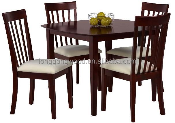 Mesas de comedor de madera modernas mesa de comedor for Comedor moderno de madera
