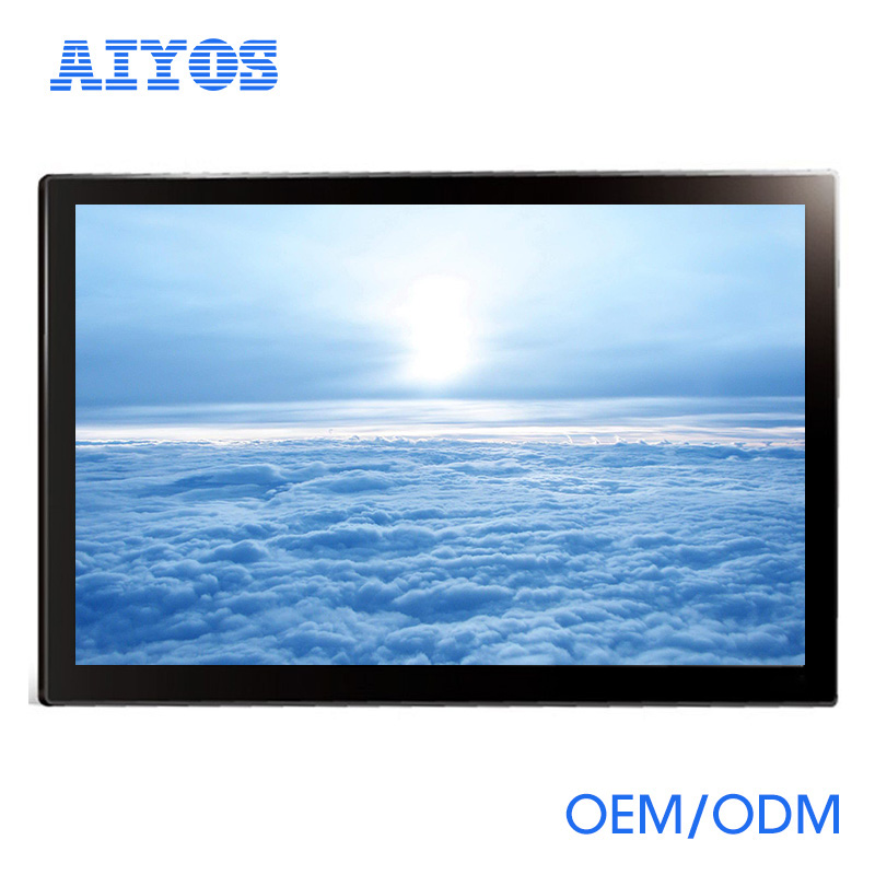 27 inch lcd monitor usb media player for advertising