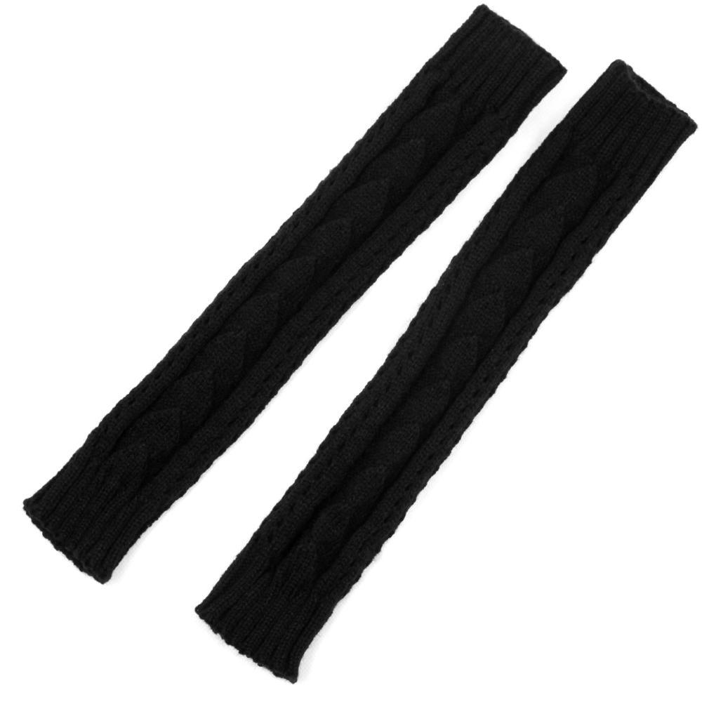 Бесплатная доставка! Женщины вязать натяжные длинная рука теплее ( черный, 1 пара )