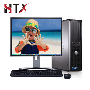 OEM/ODM Win 10 Desktop Computer C2D 4GB 1TB WiFi 17 with LCD