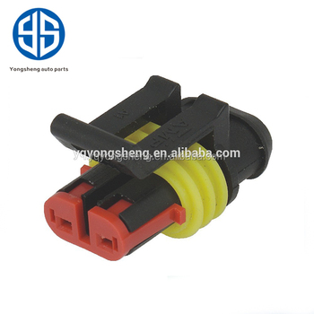 supply waterproof electrical housing auto female 2 wire harness