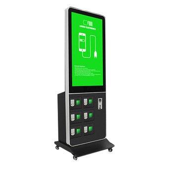 Cell Phone Charging Kiosk Electronic Device Station Key Lockers Mobile Machine