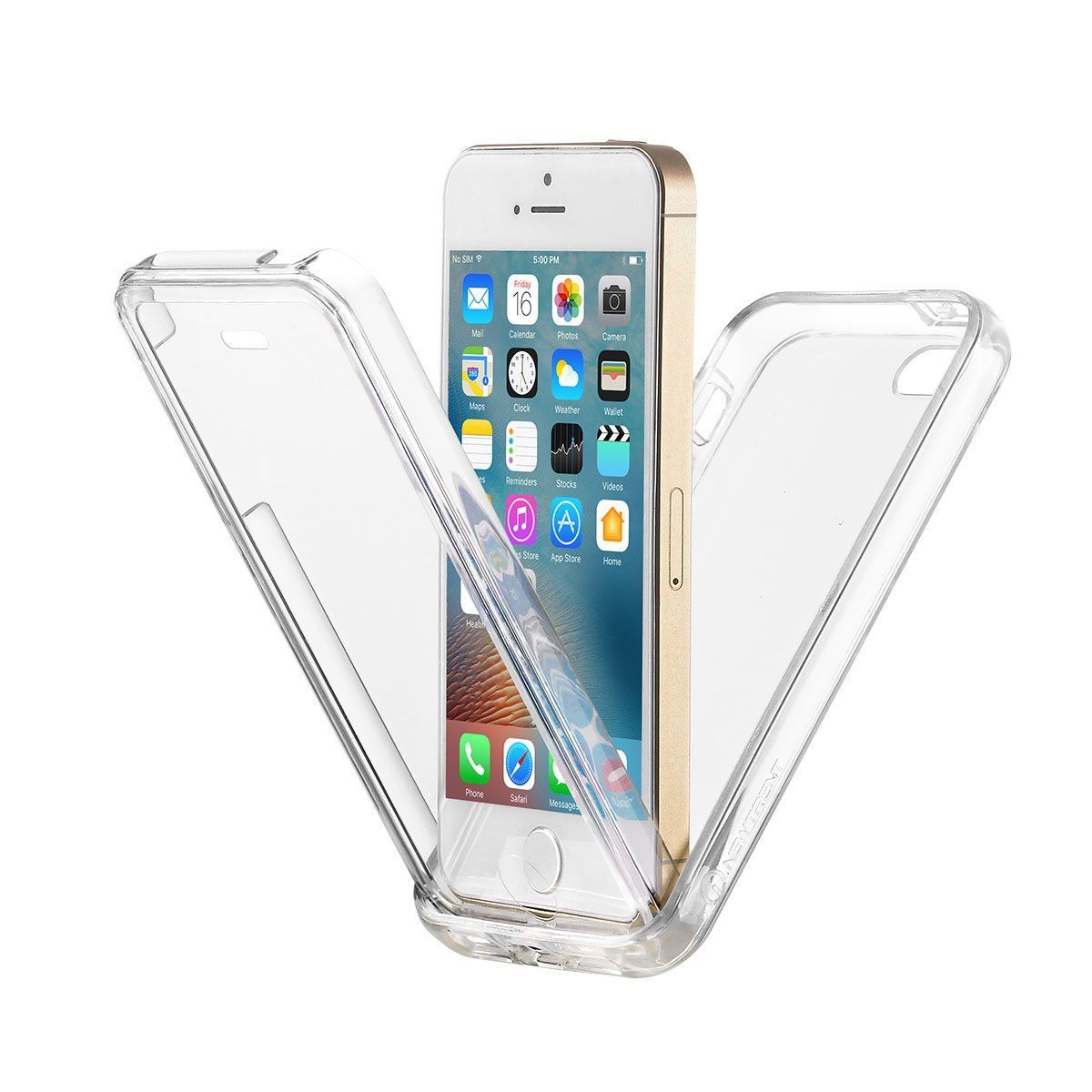ccff97685 Get Quotations · iPhone SE Case, iPhone 5s Case, iPhone 5 Case, New Trent  Alixo Rugged