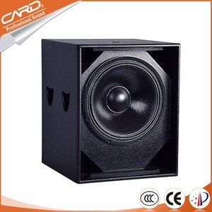 Widely used dj bass speakers professional 18 inch subwoofer speaker