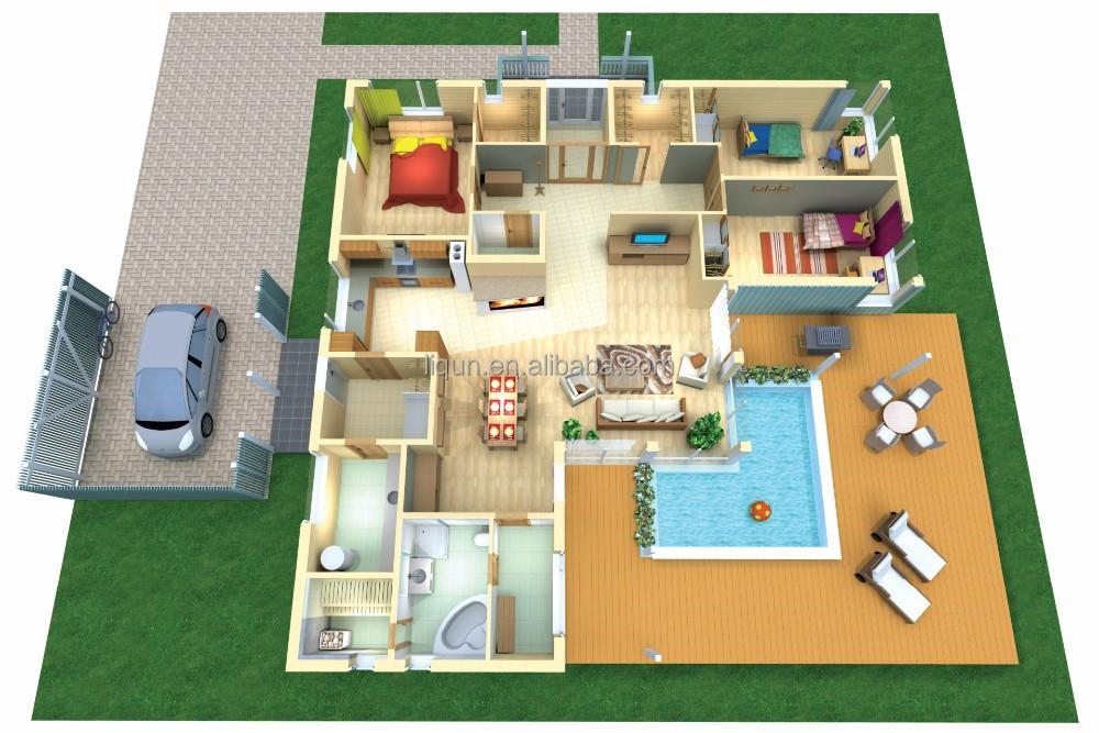 Plan De Villa De Luxe KQ43 | Jornalagora
