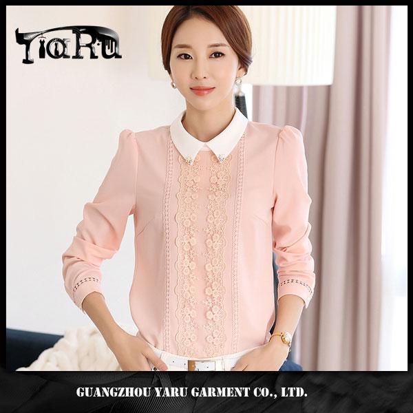 women shirt with collar