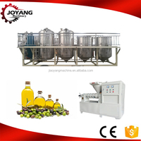 Best selling high quality peanut oil press and refining production line